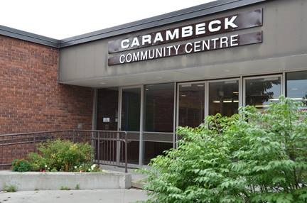 Image of front entrance of Carambeck Community Centre